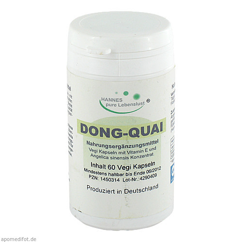 Dong Quai Vegi-Kapseln 500mg, 60 ST, G & M Naturwaren Import GmbH & Co. KG
