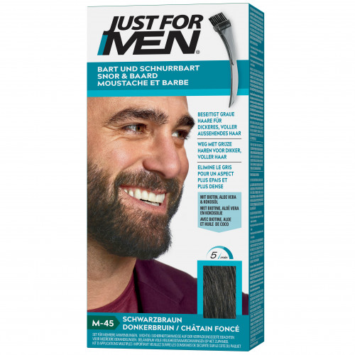 JUST FOR MEN PFLEGE-BRUSH-IN-COLOR NATUR SCHWA/BRA, 28.4 ML, Pharma Netzwerk Pnw GmbH