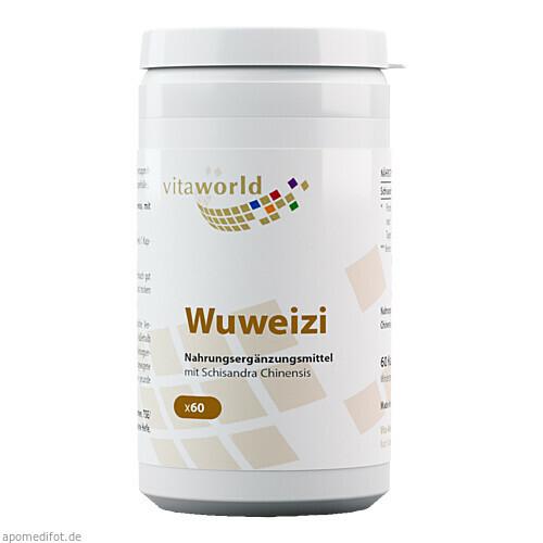 Wuweizi Schisandra 500mg, 60 ST, Vita World GmbH