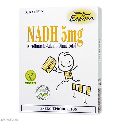 NADH 5mg Kapseln, 30 ST, Espara GmbH