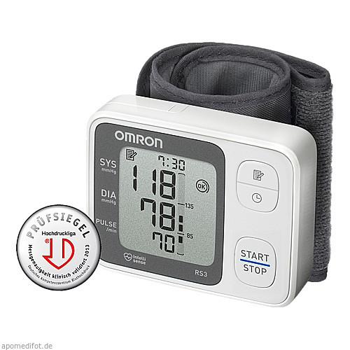 OMRON RS3 Handgelenk Blutdruckmessgerät, 1 ST, Hermes Arzneimittel GmbH