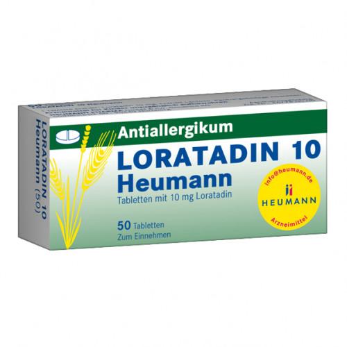 Loratadin 10 Heumann, 50 ST, Heumann Pharma GmbH & Co. Generica KG