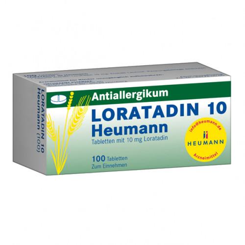 Loratadin 10 Heumann, 100 ST, Heumann Pharma GmbH & Co. Generica KG