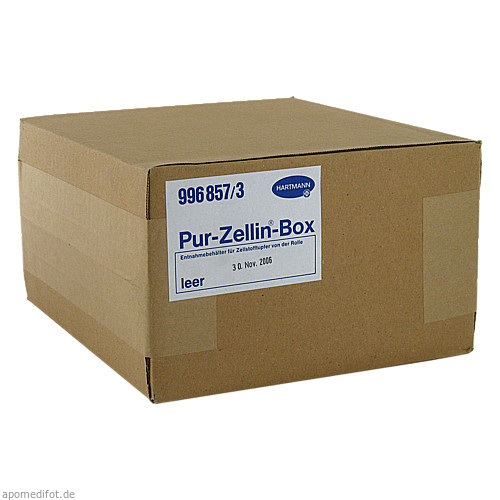 PUR ZELLIN BOX LEER, 1 ST, Paul Hartmann AG