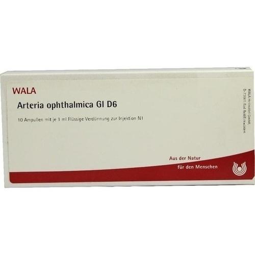 Arteria ophthalmica Gl D 6, 10X1 ML, Wala Heilmittel GmbH