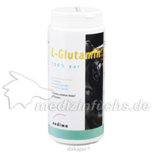 L Glutamin 100% PUR, 1000 G, Endima Vertriebsgesellschaft mbH