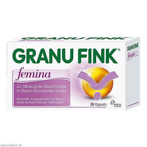 Granufink femina, 30 ST, Omega Pharma Deutschland GmbH