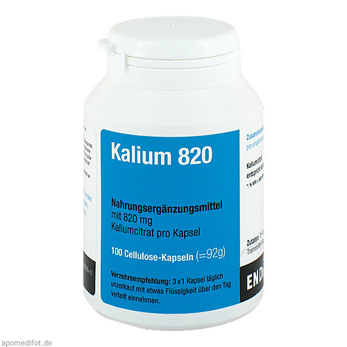 Kalium 820, 100 ST, Endima Vertriebsgesellschaft mbH