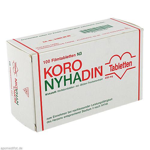 Koro-Nyhadin, 100 ST, Robugen GmbH Pharmazeutische Fabrik