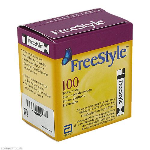 FreeStyle Teststreifen, 100 ST, Abbott GmbH & Co. KG Abbott Diabetes Care