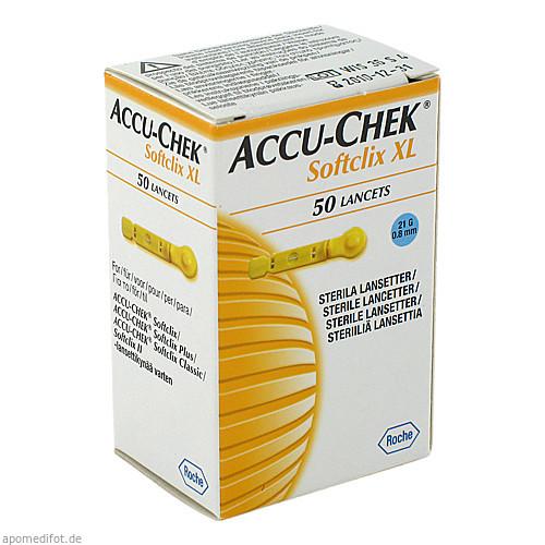 Accu-Chek Softclix Lancet XL, 50 ST, Roche Diabetes Care Deutschland GmbH