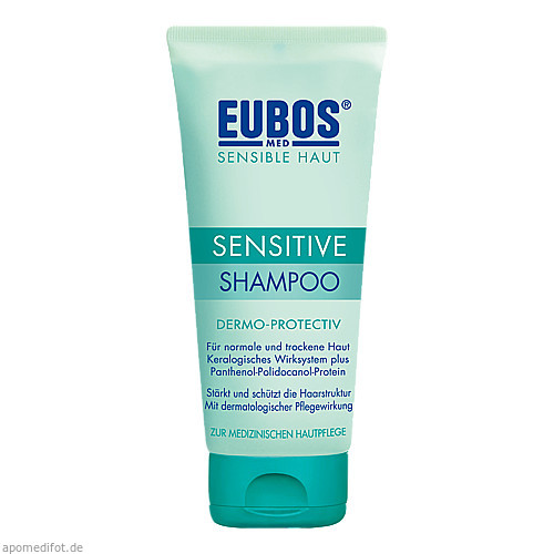 EUBOS Sensitive Shampoo Dermo-Protectiv, 200 ML, Dr.Hobein (Nachf.) GmbH