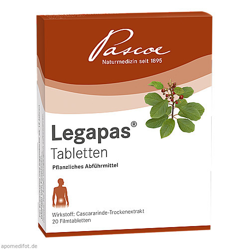 Legapas Filmtabletten, 20 ST, Pascoe Pharmazeutische Präparate GmbH