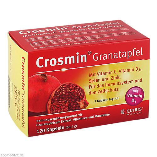 Crosmin Granatapfel, 120 ST, Quiris Healthcare GmbH & Co. KG