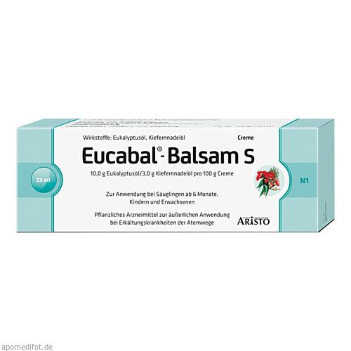 EUCABAL Balsam S, 25 ML, Aristo Pharma GmbH