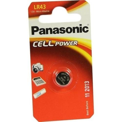 Batterie Knopfzelle 1.5V LR43/AG12, 1 ST, Vielstedter Elektronik