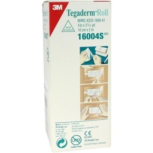 Tegaderm 3M Rolle 10cmx2m, 1 ST, 3M Medica Zwnl.d.3M Deutschl. GmbH