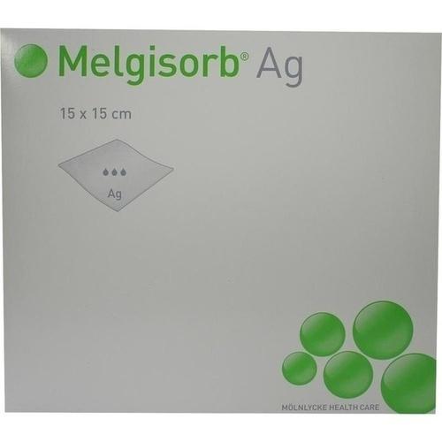 Melgisorb Ag 15x15cm, 10 ST, Mölnlycke Health Care GmbH