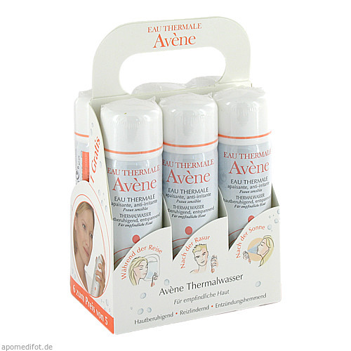 AVENE Thermalwasser Spray, 6X50 ML, Pierre Fabre Pharma GmbH