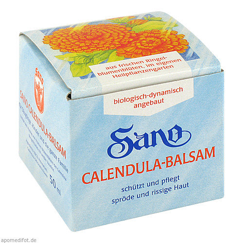SANO CALENDULA BALSAM, 50 ML, Kloster Laboratorium Lorch A.Petersen KG