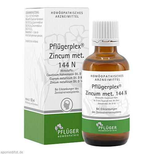 PFLÜGERPLEX Zincum met. 144 N Tropfen, 50 ML, A.Pflüger GmbH & Co. KG