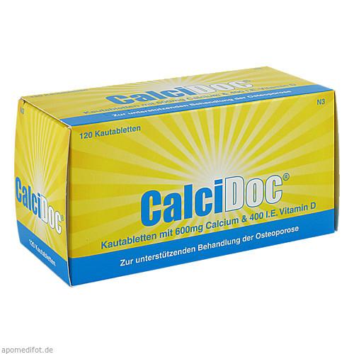 CalciDoc, 120 ST, Hübner Naturarzneimittel GmbH