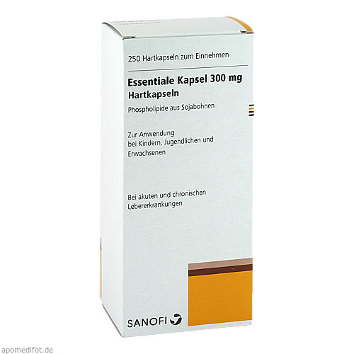Essentiale Kapseln 300mg, 250 ST, Eurimpharm Arzneimittel GmbH