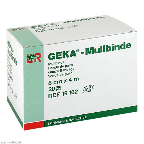 Mullbinde Geka 8cmx4m lose, 20 ST, Lohmann & Rauscher GmbH & Co. KG