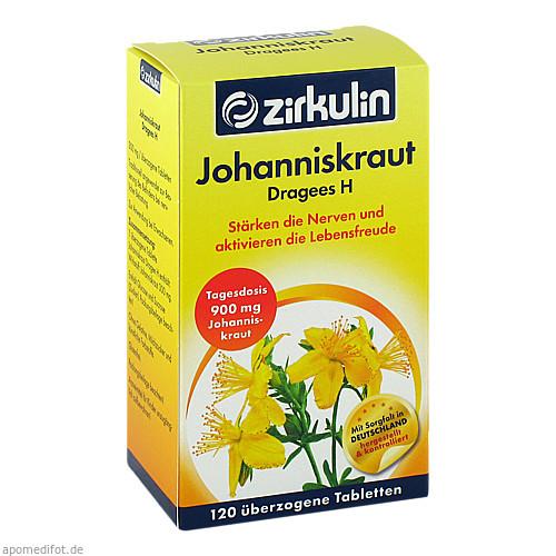 Johanniskraut Dragees H, 120 ST, Roha Arzneimittel GmbH