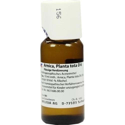 ARNICA PLANTA TOTA D 6, 50 ML, Weleda AG