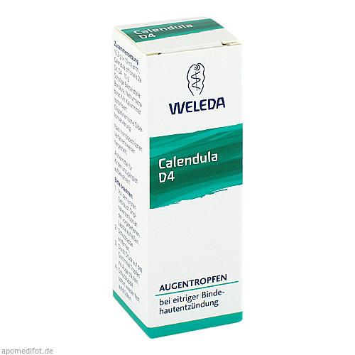 CALENDULA Augentropfen D4, 10 ML, Weleda AG