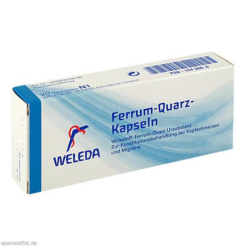 FERRUM QUARZ, 20 ST, Weleda AG