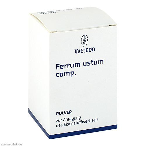 FERRUM USTUM COMP, 50 G, Weleda AG