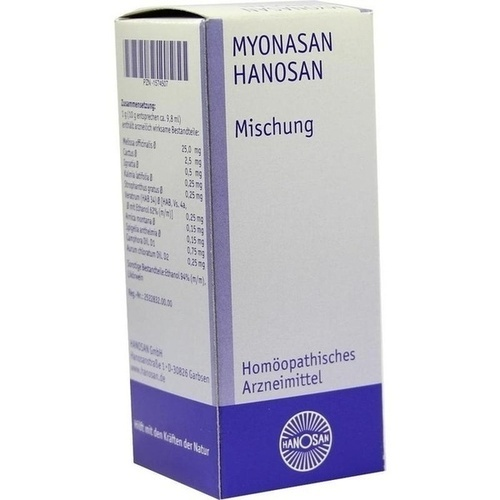 Myonasan, 100 ML, Hanosan GmbH