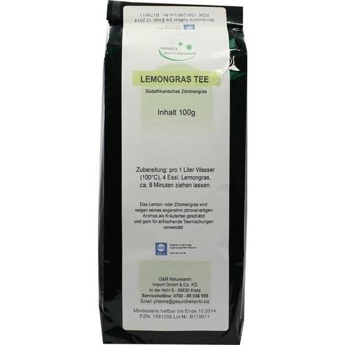 Lemongras Blättertee, 100 G, G & M Naturwaren Import GmbH & Co. KG