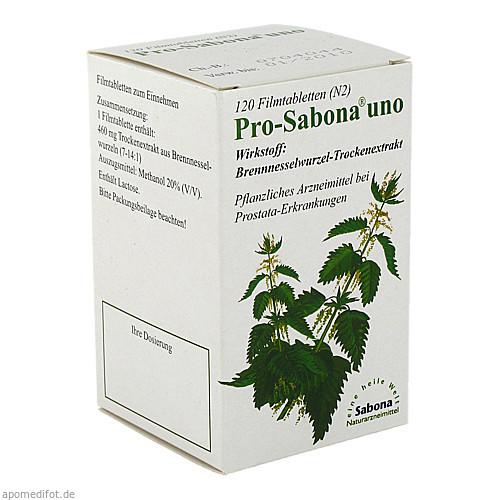 Pro-Sabona uno, 120 ST, Mit Gesundheit GmbH