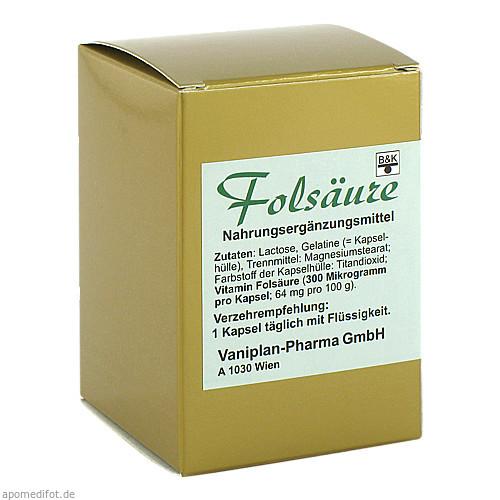 Folsäure, 60 ST, Fbk-Pharma GmbH
