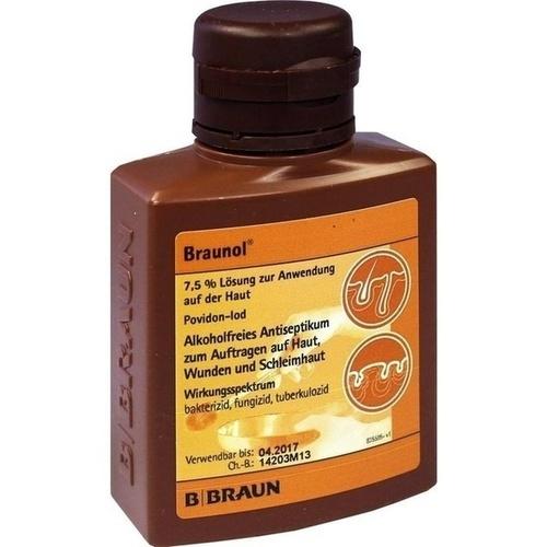 Braunol Schleimhautantiseptikum, 100 ML, B. Braun Melsungen AG