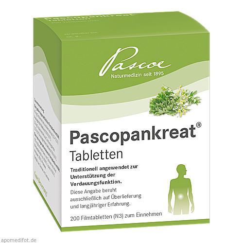 PASCOPANKREAT Tabletten, 200 ST, Pascoe pharmazeutische Präparate GmbH