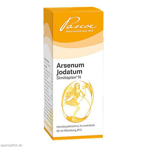 Arsenum Jodatum Similiaplex N, 50 ML, Pascoe pharmazeutische Präparate GmbH