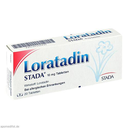 Loratadin STADA 10mg Tabletten, 20 ST, STADAPHARM GmbH