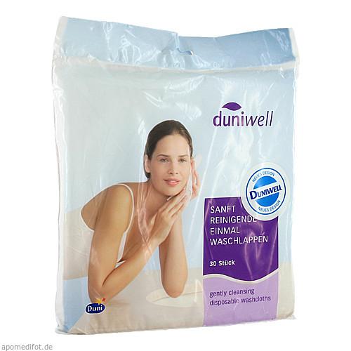 DUNIWELL Einmal Waschlappen, 30 ST, Duni GmbH