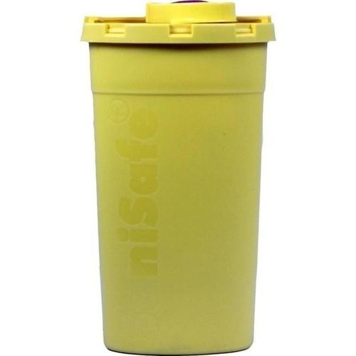 Kanüleneimer für unterwegs 0.2 Liter gelb, 1 ST, Brinkmann Medical Ein Unternehmen der Dr. Junghans Medical GmbH