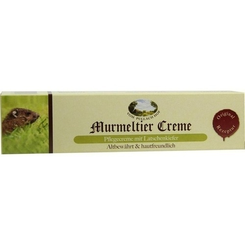 Murmeltier Creme mit Latschenkiefer, 100 ML, Axisis GmbH