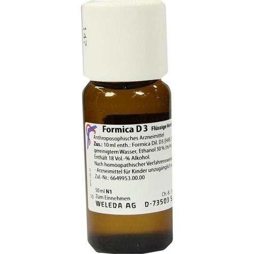 FORMICA D 3, 50 ML, Weleda AG