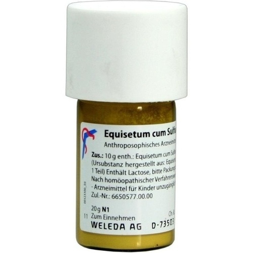 EQUISETUM C SULF TOST D 6, 20 G, Weleda AG