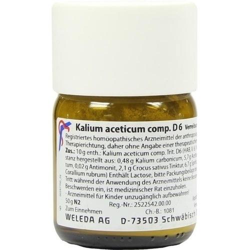KALIUM ACET COMP D 6, 50 G, Weleda AG