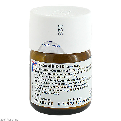 SKORODIT D10, 50 G, Weleda AG
