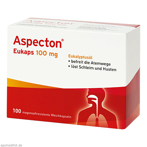 Aspecton Eukaps 100mg, 100 ST, Hermes Arzneimittel GmbH