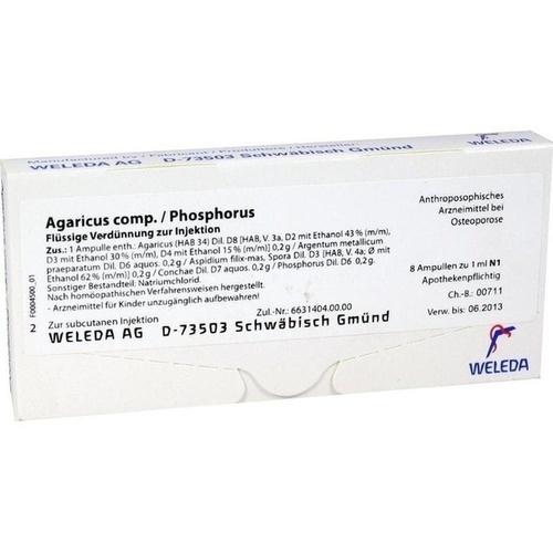 AGARICUS COMP/PHOSPH, 8X1 ML, Weleda AG